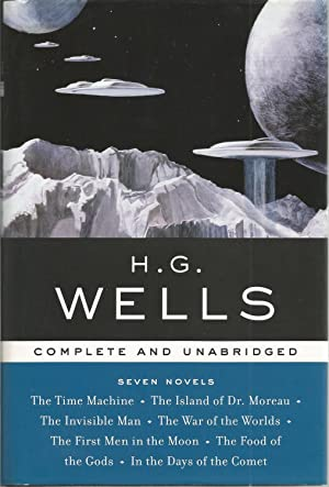 Seven Novels: The Time Machine - The: Wells, H.G., Illustrated