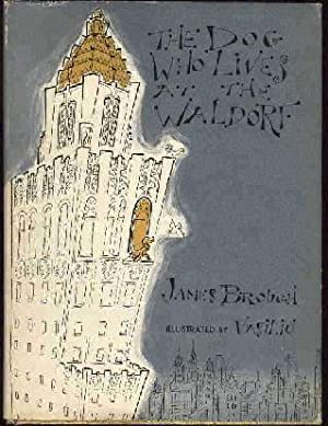 The Dog Who Lives at the Waldorf: Brough, James (Illustrated by Vasiliu), Illustrated by: Vasiliu