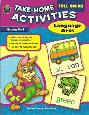 Take-Home Activities: Language Arts, Grades K-1: Zarr, Anastasia, Illustrated by: