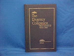 The Regency Companion: Laudermilk, Sharon H.;Hamlin,