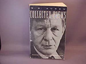 Collected Poems: Auden, W. H.;Mendelson,