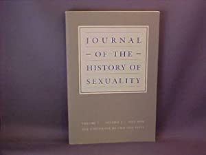 Journal of the History of Sexuality Volume