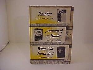 Reardon & Autumn of a Hunter &: Pike, Robert L.