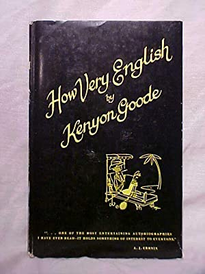 HOW VERY ENGLISH: KENYON GOODE