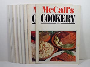 McCall's Cookery Number 1,2,3,4,5,6,7,8,9,10,11,12