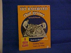 Ho Railroad That Grows: Westcott, Lina