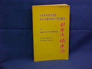 Japanese Acupuncture: Hashimoto, Dr. M.