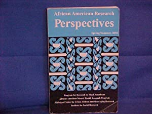 African American Research Perspectives spring/summer 1974