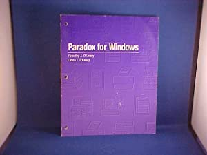 Paradox for Windows