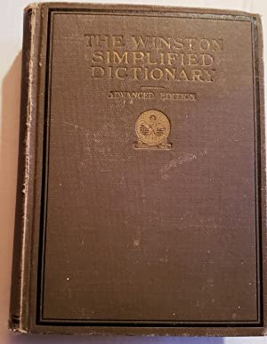 The Winston Simplified Dictionary, Advanced Edition: Lewis, Canby, Brown