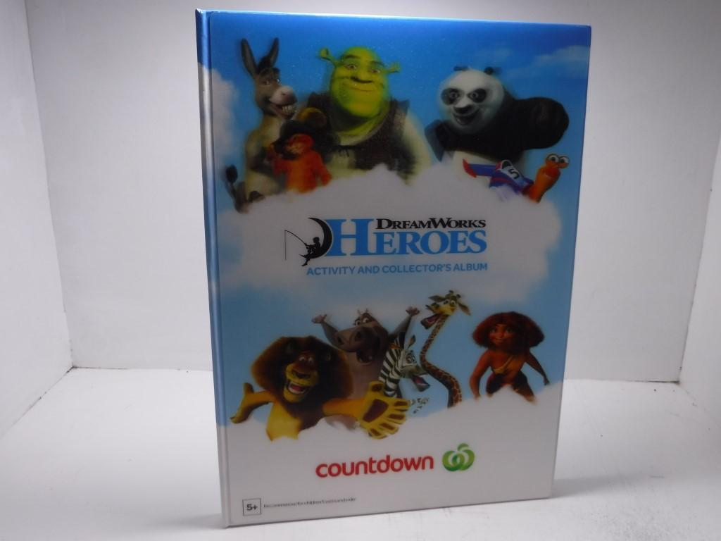 Dreamworks Heroes Activity and Collector's