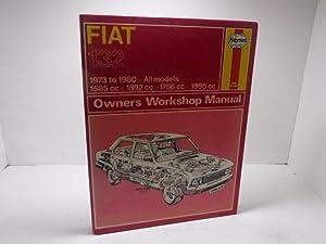 Fiat 132 Owner's Workshop Manual: Methuen, P.M.