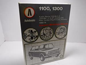 1100, 1300, Owners Workshop Manual Auto Book: KENNETH BALL