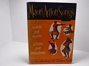 Maori Action Songs Words and Music Actions: Armstrong, Alan &
