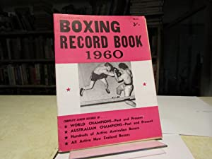 Boxing Record Book 1960