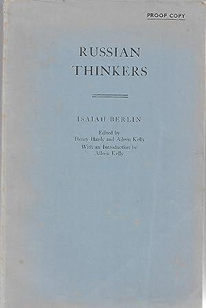 Russian Thinkers (Selected writings): Isaiah Berlin