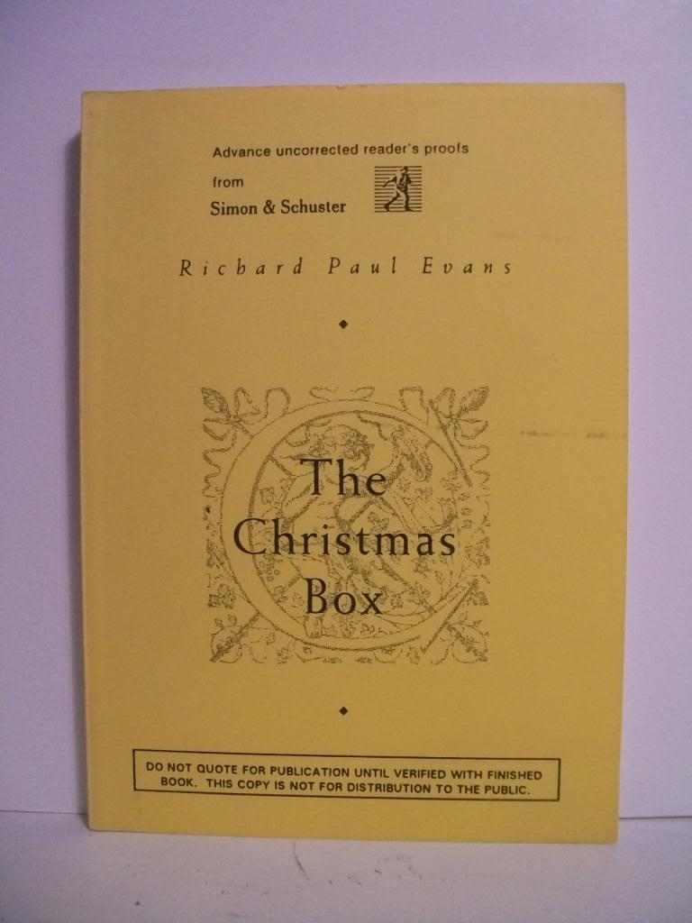 The Christmas Box: Evans, Richard Paul