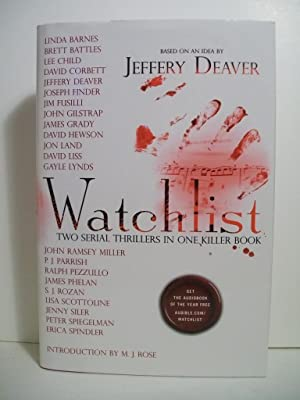 Watchlist: Two Serial Thrillers in One Killer: Deaver, Jeffery; Barnes,