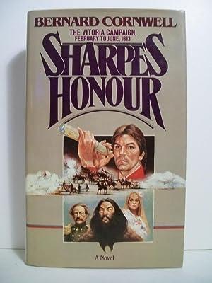Cornwell, Bernard SHARPE'S HONOUR Signed UK HCDJ 1st/1st NF: Cornwell, Bernard