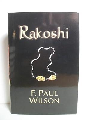 Wilson, F. Paul RAKOSHI Signed LTD NUM US HCDJ 1st/1st NF: Wilson, F. Paul