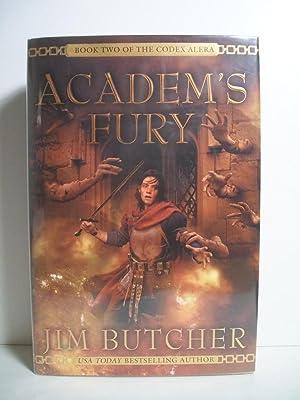 Academ's Fury (Codex Alera, Book 2): Butcher, Jim