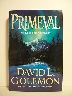 Golemon, David Lynn PRIMEVAL Signed US HCDJ: Golemon, David Lynn
