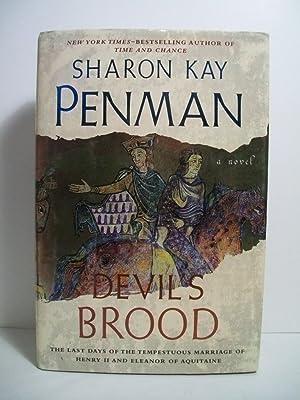 Penman, Sharon DEVIL'S BROOD Signed US HCDJ 1st/1st VG+: Penman, Sharon