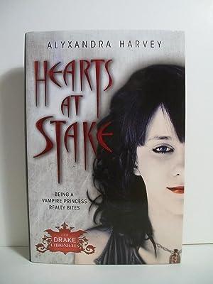HEARTS AT STAKE: Harvey, Alyxandra