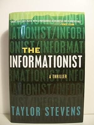 Stevens, Taylor THE INFORMATIONIST Signed US HCDJ 1st/1st NF: Stevens, Taylor