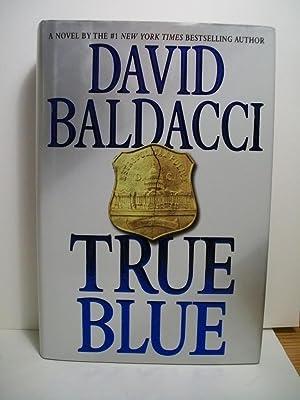 Baldacci, David TRUE BLUE Signed US HCDJ 1st/1st NF: Baldacci, David