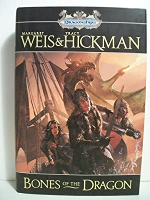 Weis; Hickman BONES OF THE DRAGON Signed US HCDJ 1st/1st NF: Weis, Margaret; Hickman, Tracy