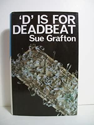 Grafton, Sue D IS FOR DEADBEAT Signed UK HCDJ 1st/1st VG+: Grafton, Sue