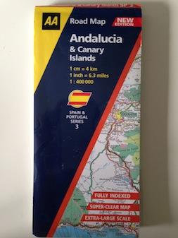 Andalucia and Canary Islands (AA Road Map Spain & Portugal)