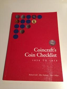 Coincraft's Coin Checklist, 1656 to 1816