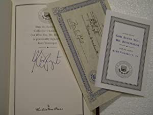God Bless You, Mr. Rosewater: Kurt Vonnegut - RARE SIGNED LIMITED EDITION