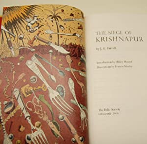 The Siege Of Krishnapur - VOTED THE BOOKER OF ALL BOOKERS: Farrell, J. G. - STUNNING SPECIAL ...