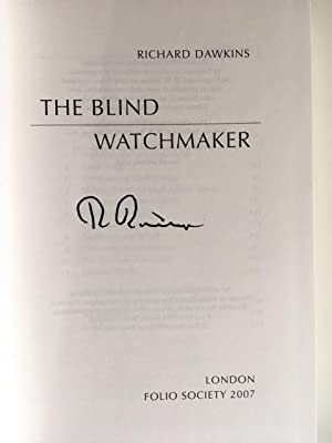 blind watchmaker thesis Response to gould in the july 1992 this blind watchmaker thesis is the most important claim of evolutionary biology.