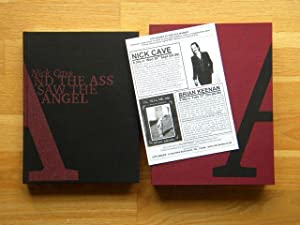 And The Ass Saw The Angel - RARE! POSSIBLY UNIQUE! SIGNED LIMITED EDITION: Nick Cave - SIGNED! ...