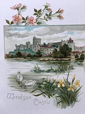 The Royal Homes Of England: Alfred, Lord Tennyson - EXTREMELY RARE ROYAL EPHEMERA
