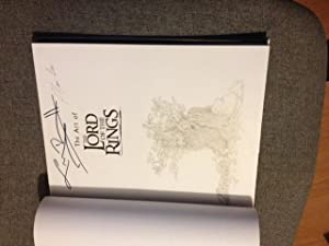The Art of The Lord of the Rings - RARE DOUBLE SIGNED FIRST PRINTING!: Russell, Gary - SIGNED BY ...