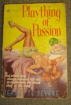 Plaything Of Passion - VERY RARE PULP: Jeannette Revere