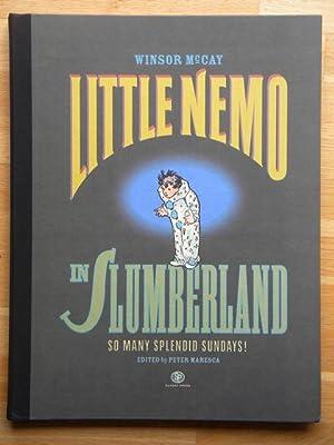 LITTLE NEMO in SLUMBERLAND - So Many: Winsor McKay -