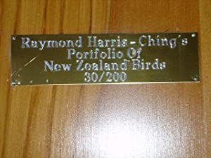 Portfolio Of New Zealand Birds - 30/200: Raymond Harris-Ching - RARE PORTFOLIO!