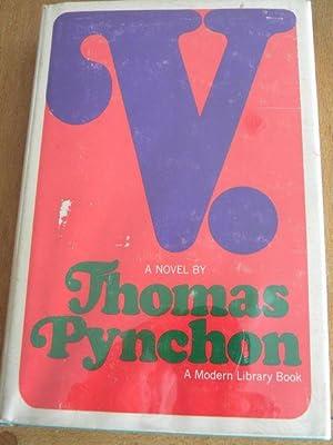 V.: Thomas Pynchon - RARE MODERN LIBRARY FIRST PRINTING