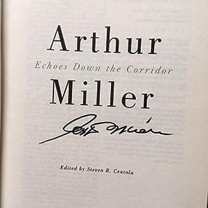 Echoes Down the Corridor: Arthur Miller