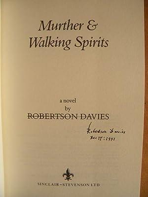 Murther and Walking Spirits: Davies, Robertson - SIGNED & RARE!
