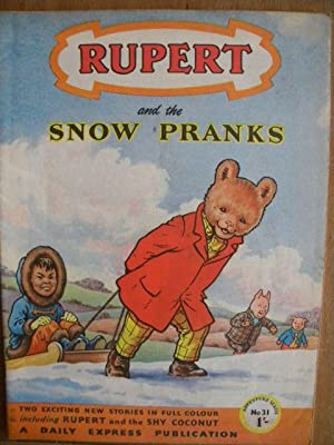 Rupert And The Snow Pranks - Adventure Series 31