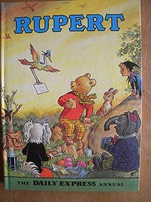 RUPERT ANNUAL 1972 - Rare FINE Copy!