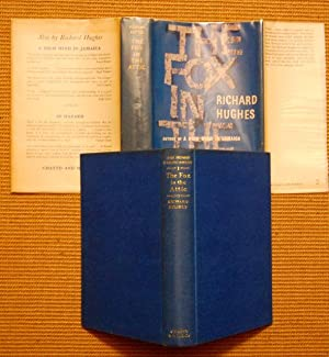 The Fox In The Attic - In Rare Complete Jacket: Richard Hughes - FIRST PRINTING