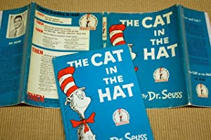 The Cat in the Hat: Dr. Seuss - RARE FIRST PRINTING IN JACKET